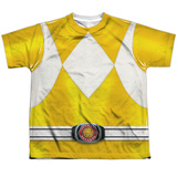 Youth: Power Rangers- Yellow Ranger T-shirts