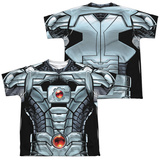 Youth: JLA- Cyborg (Front/Back) T-shirts