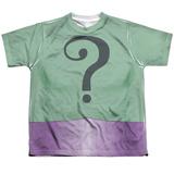Youth: Batman Classic Tv- Riddler Uniform Shirts