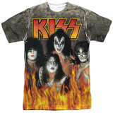 Kiss- Through The Fire Shirts