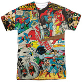 Dc Comics- Classic Collage Shirt