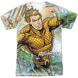 Aquaman- Rough Seas T-Shirt
