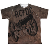 Youth: AC/DC- Rock Cannon T-shirts