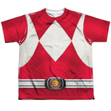 Youth: Power Rangers- Red Ranger Shirts