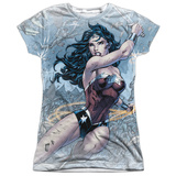 Juniors: Wonder Woman- Wonder Warrior T-shirts