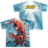 Youth: The Flash- Shredding Speed (Front/Back) T-shirts