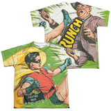 Youth: Batman Classic Tv- Fighting Back (Front/Back) T-shirts