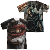 Batman- Asylum (Front/Back) Shirts