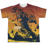 Youth: Kong: Skull Island- Enraged Attack T-shirts