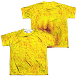 Youth: Sesame Street- Big Bird Costume Tee (Front/Back) T-Shirt