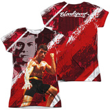 Juniors: Bloodsport- Fight Of Your Life (Front/Back) Womens Sublimated