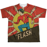 Youth: The Flash- Vintage Jay Garrick T-Shirt