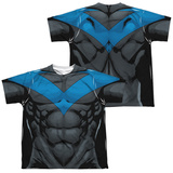 Youth: Batman- Nightwing Blue Uniform (Front/Back) Shirts