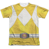 Power Rangers- Yellow Ranger T-Shirt