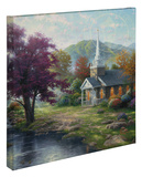 Streams of Living Water Stretched Canvas Print by Thomas Kinkade