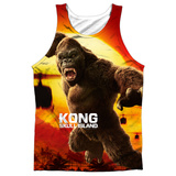 Tank Top: Kong: Skull Island- Attack Of The King Tank Top