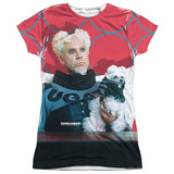 Juniors: Zoolander- Mugatu Womens Sublimated