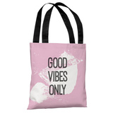 Good Vibes Only Tote Bag by OBC Tote Bag