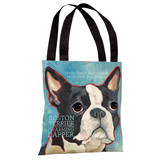 Boston Terrier 1 Tote Bag by Ursula Dodge Tote Bag