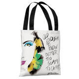 Detail Beauty - White Multi Tote Bag by Judit Garcia Talvera Tote Bag