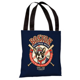 Boston Brew Tote Bag by Dog is Good Tote Bag by Dog is Good