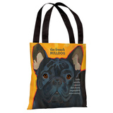 French Bulldog 3 Tote Bag by Ursula Dodge Tote Bag