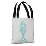 But I Am A Mermaid - Gray Tote Bag by OBC Tote Bag