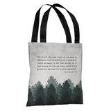 The Trees - Gray Tote Bag by OBC Tote Bag