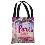 Paris is a Good Idea - Multi Tote Bag by OBC Tote Bag