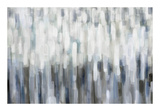 Silver Rain Giclée-Druck von Karen Lorena Parker