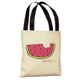 Summer Yum Watermelon Tote Bag by OBC Tote Bag