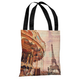City of Romance - Multi Tote Bag by OBC Tote Bag