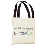 Love,Luck & Pursuit of Wanderlust Ombre Tote Bag by OBC Tote Bag