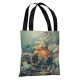 Seachange - Multi Tote Bag by Terry Fan Tote Bag