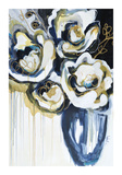 Blooms In Blue Giclee Print by Angela Maritz