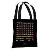 Fashionable Invaders - Multi Tote Bag by Terry Fan Tote Bag