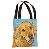 Golden Retriever 1 Tote Bag by Ursula Dodge Tote Bag