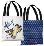 Ahoy Shoes - Multi Tote Bag by Timree Tote Bag