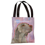 Weimaraner Tote Bag by Ursula Dodge Tote Bag