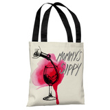 Mommy's Sippy - Ivory Multi Tote Bag by Pillow Talk Tote Bag