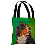 Bernese Mountain Dog 1 Tote Bag by Ursula Dodge Tote Bag