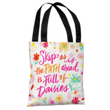 Full of Daisies - Multi Tote Bag by Jeanetta Gonzales Tote Bag