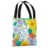 Today is Your Day Florals - Multi Tote Bag by Ana Victoria Calderon Tote Bag