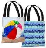 Beachball - Multi Tote Bag by Timree Tote Bag