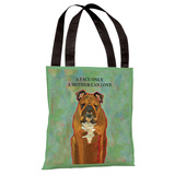 A Face Only A Mother Can Love Tote Bag by Ursula Dodge Tote Bag