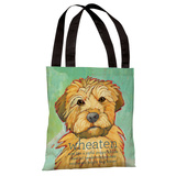 Wheaten 1 Tote Bag by Ursula Dodge Tote Bag