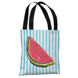 Whatthemelon - Blue Multi Tote Bag by OBC Tote Bag