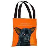 Chihuahua 3 Tote Bag by Ursula Dodge Tote Bag