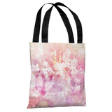 Roaming in the Field - Pink Tote Bag by OBC Tote Bag