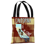 California Here We Come - Multi Tote Bag by OBC Tote Bag